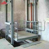 Venta directa de fábrica Barata estacionario hidráulico Almacén Vertical carril guía de elevación de mercancías de China Proveedores