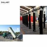 13 - 90 톤 덤프 트럭 팁 주는 사람 긴 치기 액압 실린더를 드는 3 4 5 단계