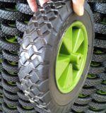 8 Zoll-flach freies halb pneumatisches Garten-Schlussteil-Karren-Rad