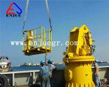 上海Enjueポートの使用の船の使用の油圧格子ブームの海洋のデッキクレーン