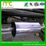 Película del vinilo usada para la capa o el material de papel del forro