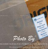 Tipo tessuto 304 maglia dello schermo dell'acciaio inossidabile