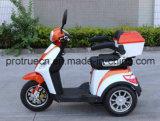 Tricycle électrique avec le bâti en acier