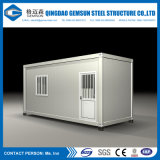 Einfach China-Entwurfs-preiswertes Fertigbehälter-Haus installieren