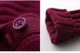 100% Wolle-strickendes Wolljacke-Kind-Kleid für Mädchen