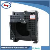 Radiador de aluminio de Genset del radiador del radiador líquido de la refrigeración por agua D1105-4
