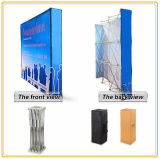 Hook & Loop Pop up Supports d'affichage Banner Stands (12FT curved)