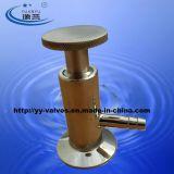 Medidas sanitárias apertadas a válvula de amostragem (100708)
