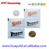 Quetschkissen-Beutel für das Salz gebildet durch PEüberzogenes Papier