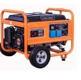 /Petrol-bewegliche Energien-Generator Genset des Benzins 5kw Luft abgekühlter Motor