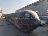 Bolsas a ar de borracha marinhas do salvamento da embarcação para Drainning fora da colocação da água/tubulação