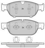 D1549 la plaquette de frein pour Audi aucun bruit et sans poussière OE06981514h g