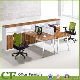 Estações de trabalho de madeira do escritório da tabela de Seater da divisória modular 6 de Chuangfan