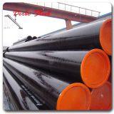 Grande Size API 5L GR. Tubulação de aço sem emenda laminada a alta temperatura de carbono de B