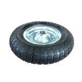 Pneu de borracha pneumático resistente 3.50-8 de boa qualidade
