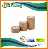 Bande de empaquetage de Brown BOPP pour le cachetage de carton