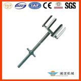 Cabeça de forquilha galvanizada para cofres com qualidade superior