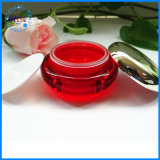 Vaso crema cosmetico libero acrilico vuoto di vendita calda