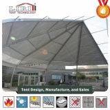 옥외 PVC TFS에 의하여 구부려지는 지붕 구조 군 사용 천막