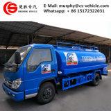 Forland 4X2 для перевозки молока молоко из нержавеющей стали погрузчика погрузчик 6м3 резервуар для охлаждения молока погрузчика