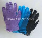 Freie blaue Wegwerfvinylhandschuhe für Prüfung