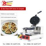 Machine van de Wafel van Baker van de Wafel van de Apparatuur van de catering de Elektrische met Het Commerciële Restaurant van het Ce- Certificaat