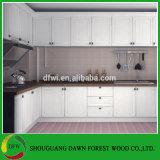 ヨーロッパPVC真空のキャビネットドアの食器棚