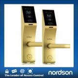 Serratura di portello dell'impronta digitale + del fronte con tempo biometrico Recoder dello schermo attivabile al tatto
