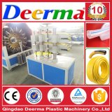 O tubo de borracha reforçado com fibra de PVC da linha de produção