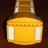 黄色3mの反射鏡3mの長さの携帯用減速バンプ