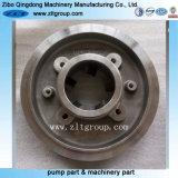 La norme ANSI Durco Mark 3 Couvercle de la pompe centrifuge en acier inoxydable dans le moulage d'investissement