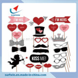 18pk boda Photo Booth accesorios decorativos