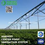 Pivote de centro para la irrigación de la granja para la granja grande