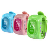 Color Kids Watch GPS Tracker con Free APP Operate Wt50-Ez