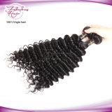 Cabelo humano em bruto barata onda profunda Virgem pacotes de cabelo Brasileiro