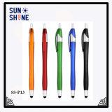 Stylo à bille promotionnel en plastique d'aiguille de crayon lecteur de bille des prix bon marché