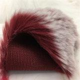 La superficie bianca della pelliccia del coniglio del Faux si è sbiadetta pelliccia falsa dell'imitazione di alta qualità della pelliccia del coniglio di effetto