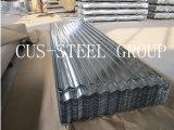 Placa de azotea galvanizada del hierro/hoja galvanizada del material para techos del metal