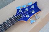 Hanhai Музыка / синий Prs стиле электрическая бас-гитара с 5 строк