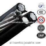 Câblage électrique du câble isolé industrielle