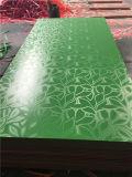 Высокая доска покрытия красного цвета лоска UV/UV высокая лоснистая доска MDF