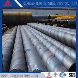 Выбросов углекислого газа SSAW Сварные стальные трубы API5l X52 Psli Psl2 спираль трубы