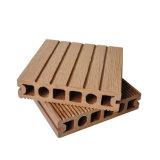 Plancher en plastique en bois extérieur du Decking du composé/WPC/WPC