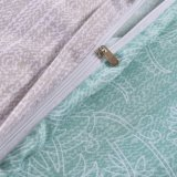 花の羽毛布団カバーセット3部分はパターン軽量のMicrofiberの寝具セットを印刷した