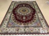 230 линий персидского шелковые ковры ручной работы (6X9М)