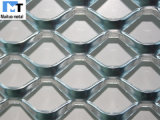 Grillage de métal galvanisé élargi perforé/revêtus de PVC