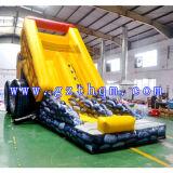불도저 팽창식 물 Slides/Inflatable Trampoline 활주