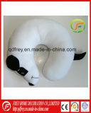 قطيفة بيضاء كلب لعبة عنق وسادة وسادة