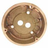 真鍮の鍛造材の部品のCNCの機械化