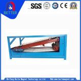 Separatore magnetico permanente piano del minerale ferroso di serie di Btpb per la vendita calda